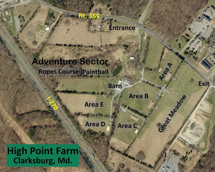 High Point Farm Aerial Map